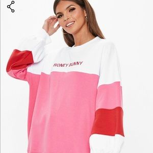 Misguided Honey Bunny Sweatshirt